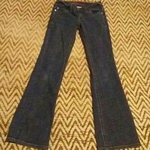 Super Low rise jeans size 7/8